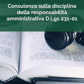Disciplina responsabilità amministrativa